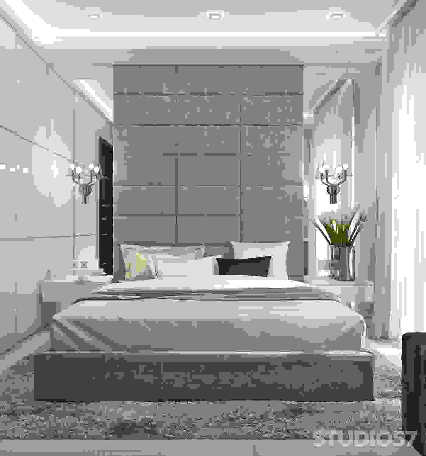 Bedroom in Contemporary style photo