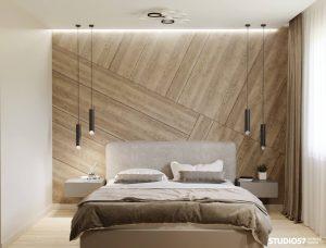 Эко стиль в спальне