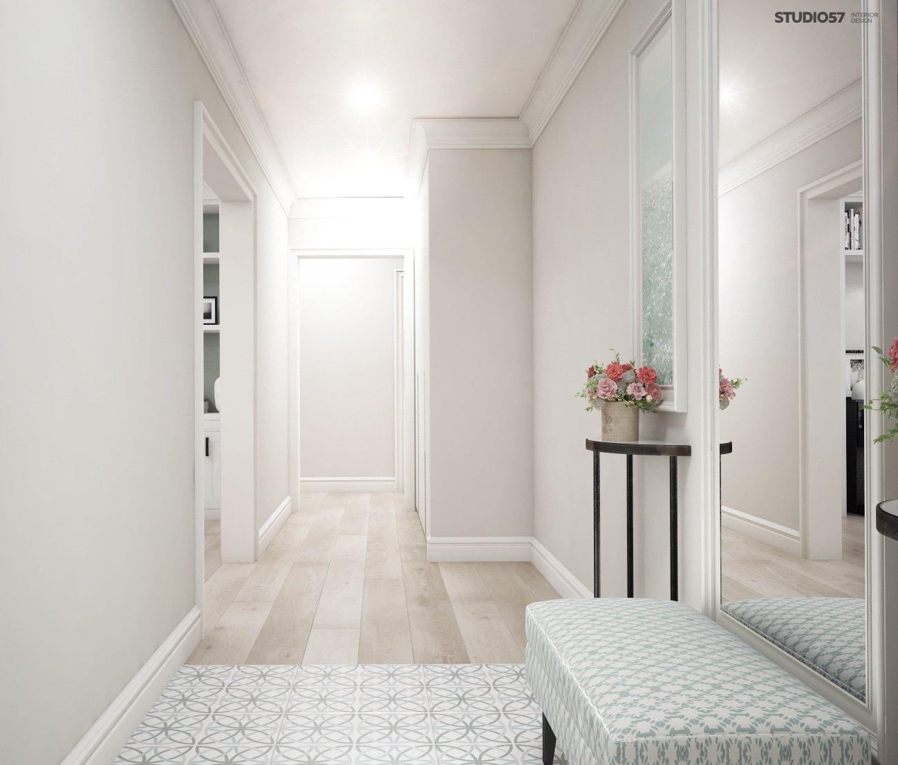 Bright hallway photo
