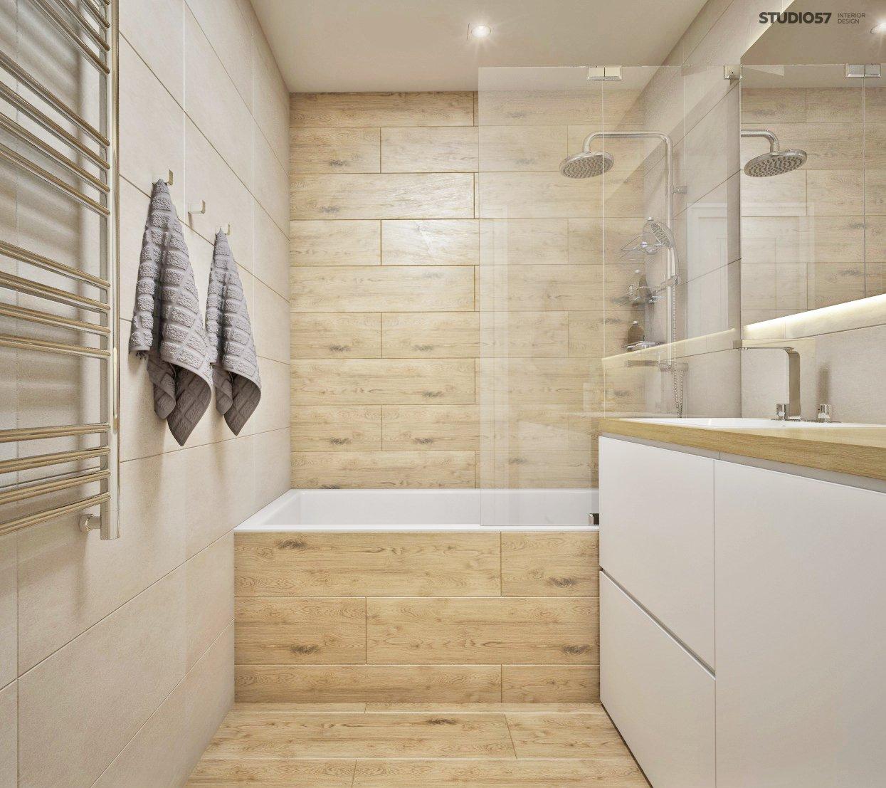 Wooden Bathroom Finishing