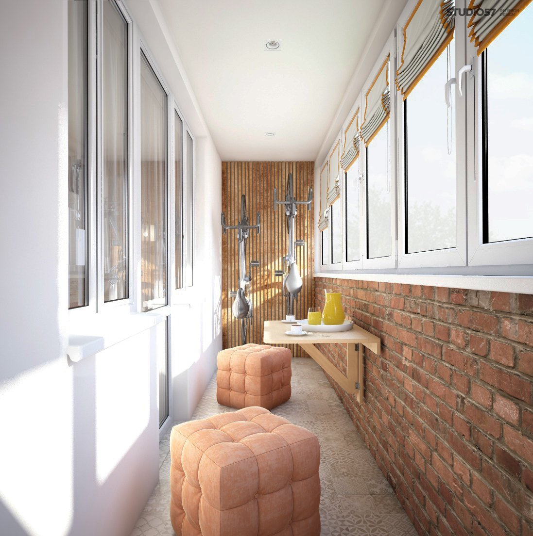 Image of the balcony design