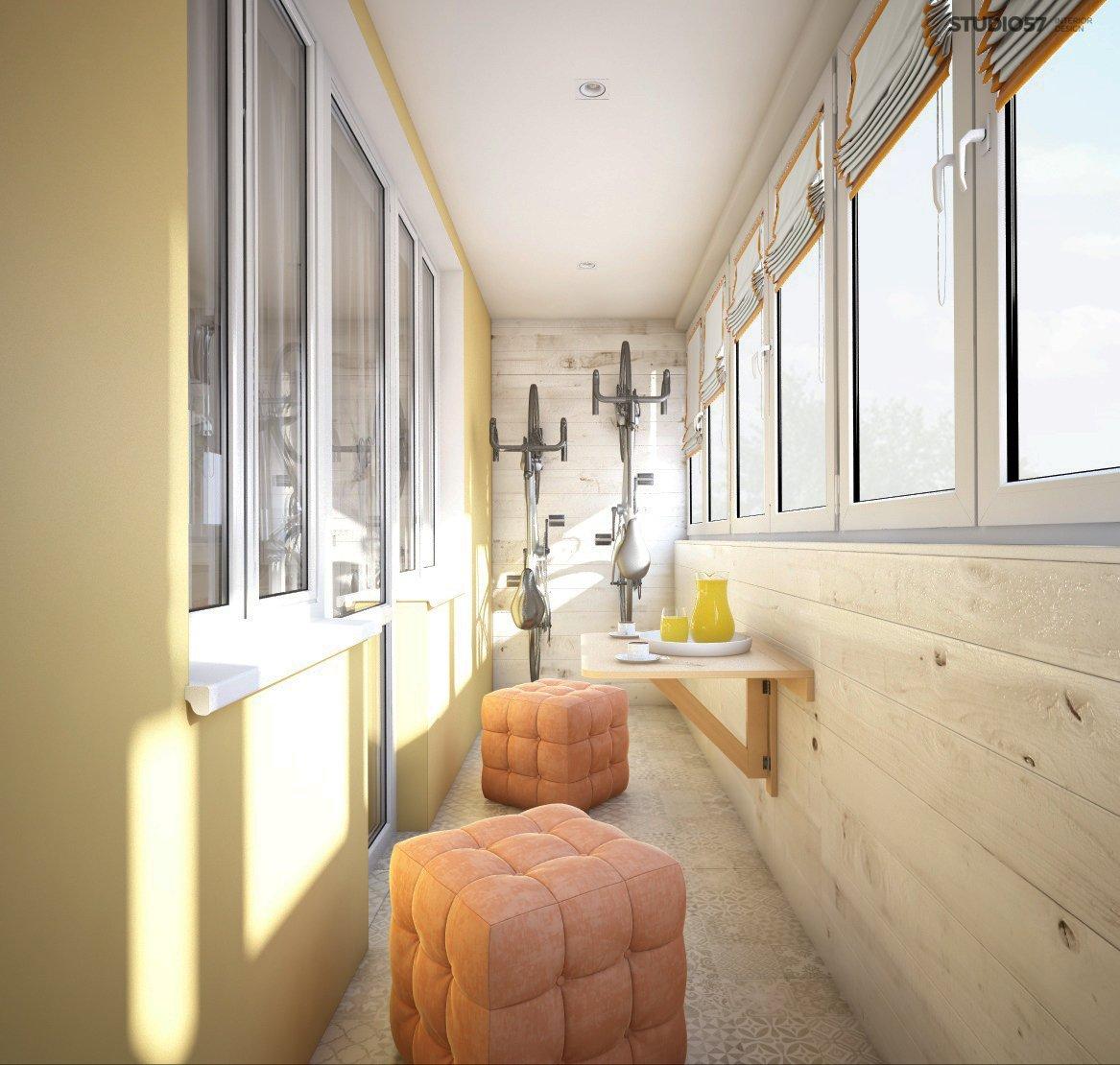 Photo of the balcony design