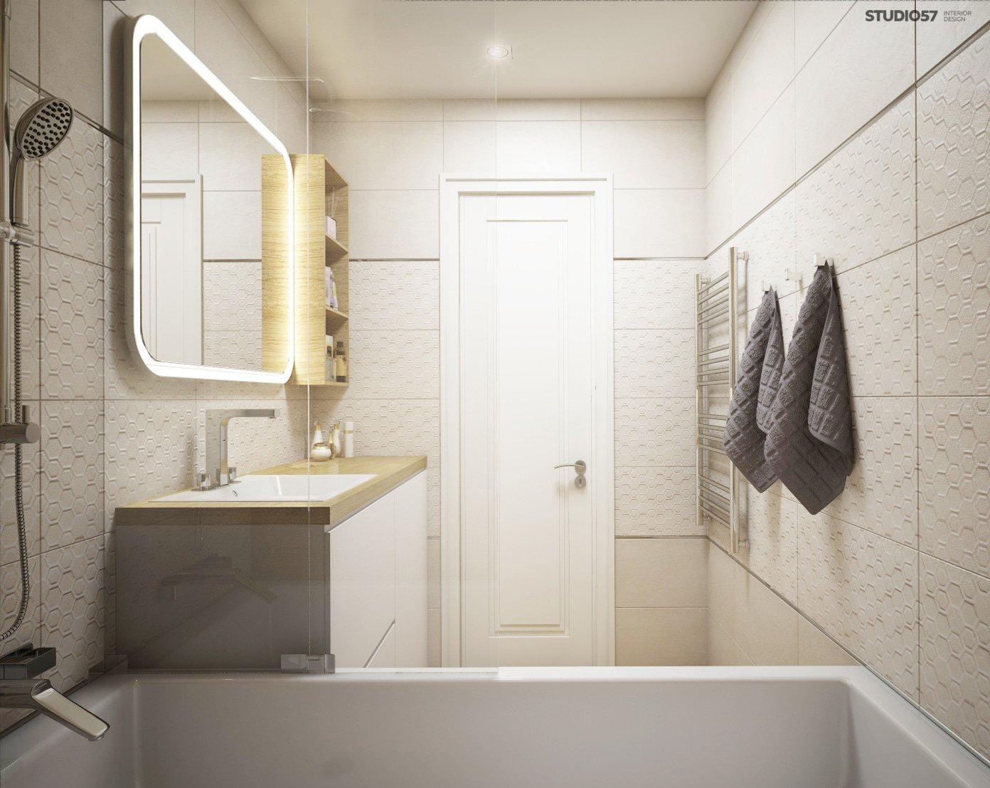 Bathroom photo in modern classic style