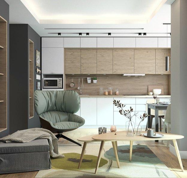 Дизайнерская мебель в интерьере фото