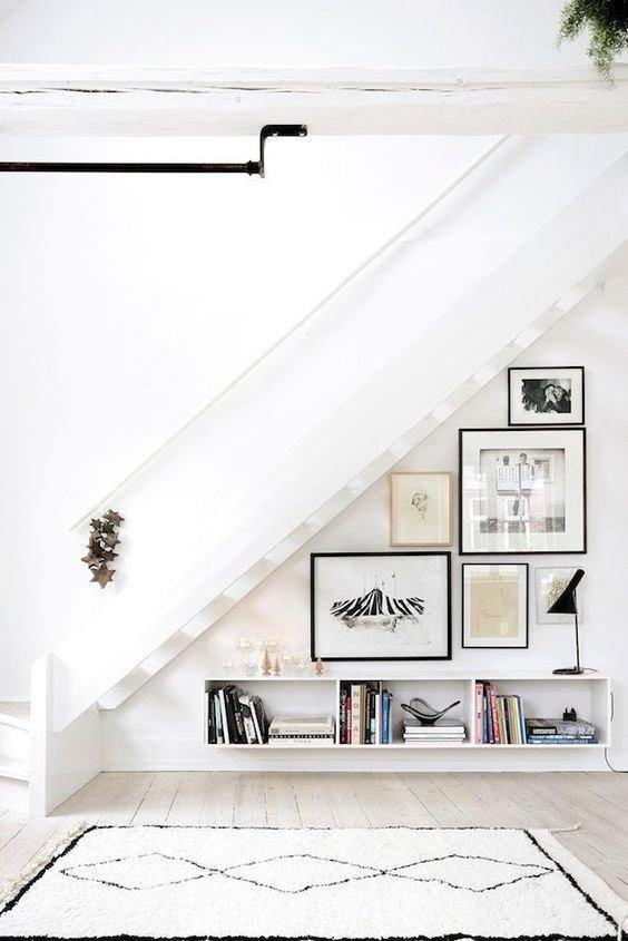 Оформление лестницы в квартире фото