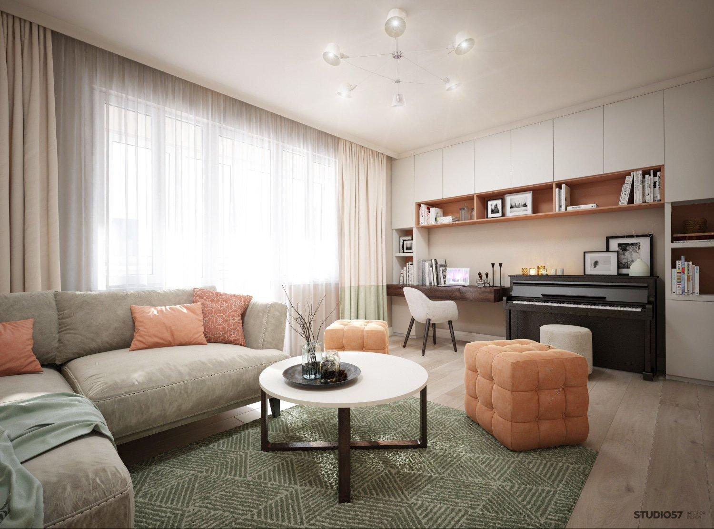 Modern living room image
