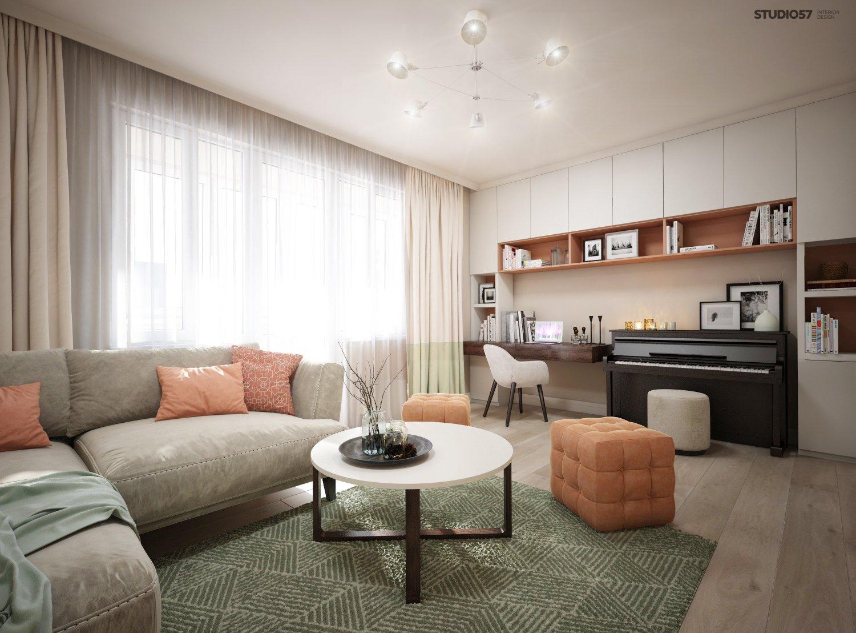 Living room interior image