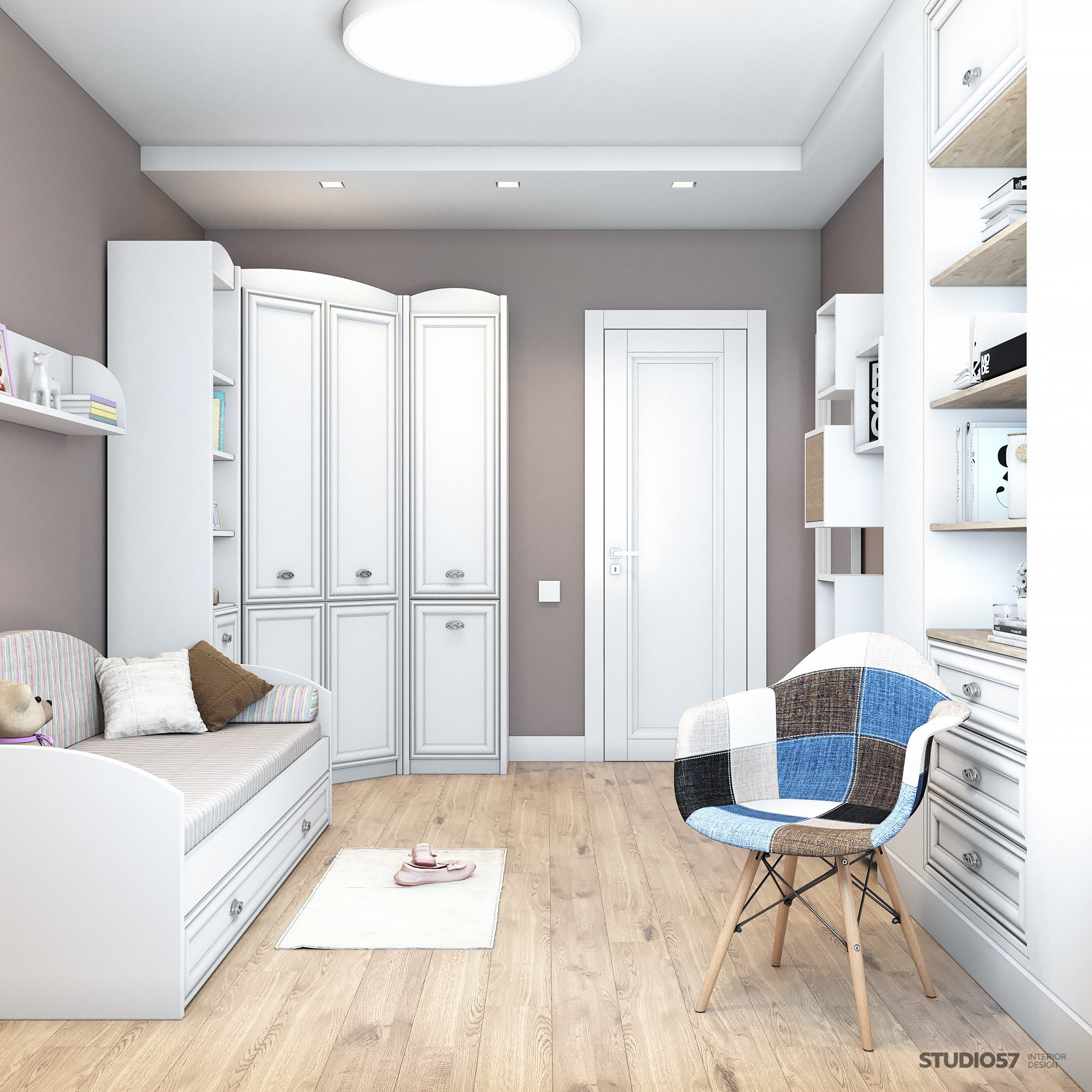 Furniture for the nursery in a modern style photo