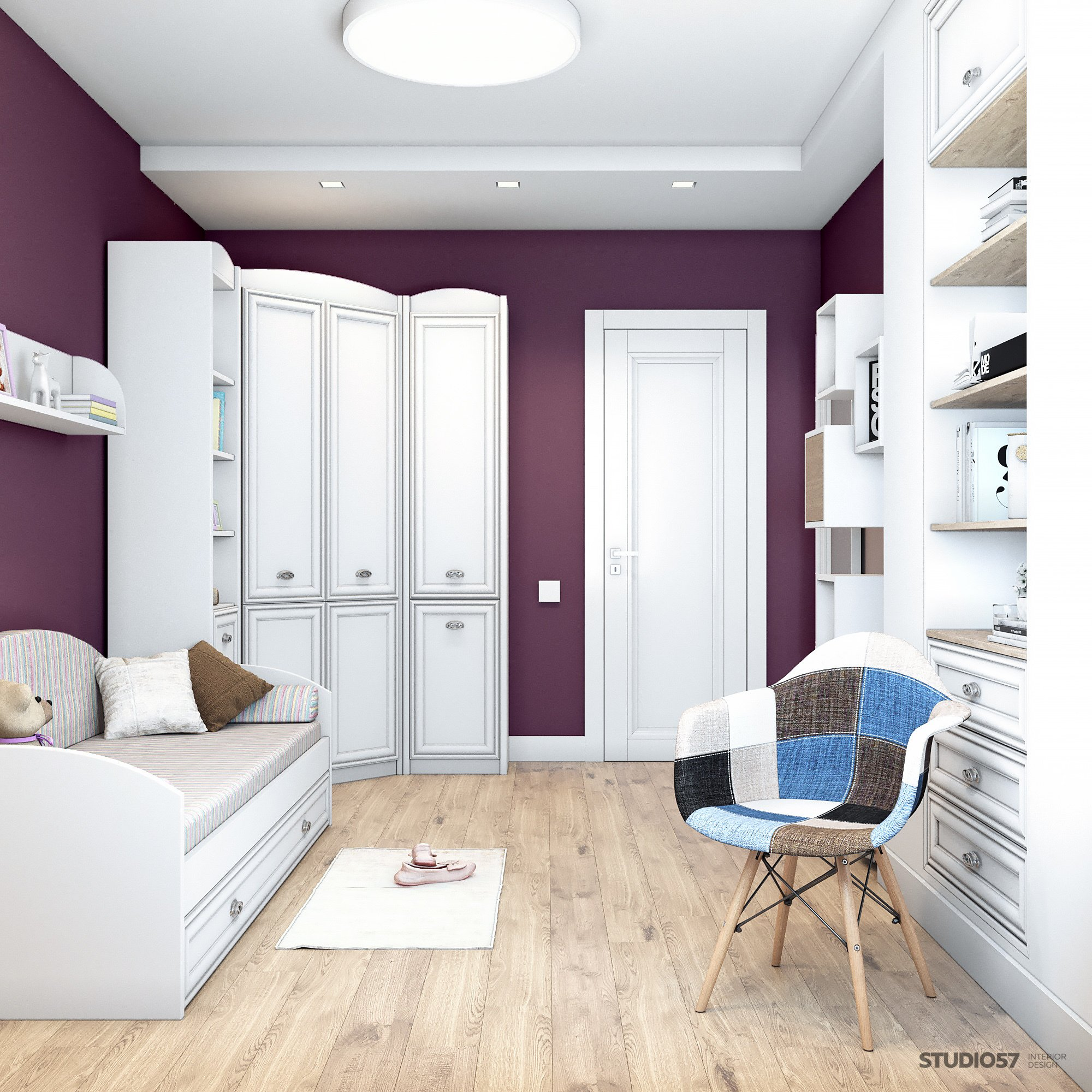 Children's room in the Style of Contemporary Photo