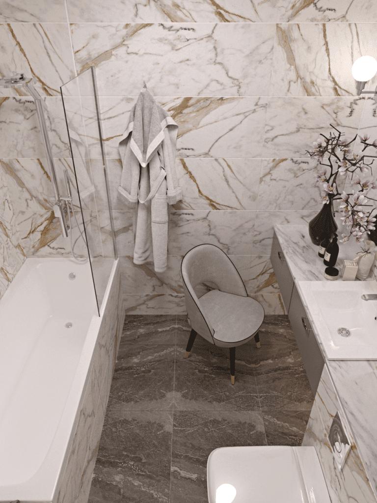 Интерьер ванной 2018 фото