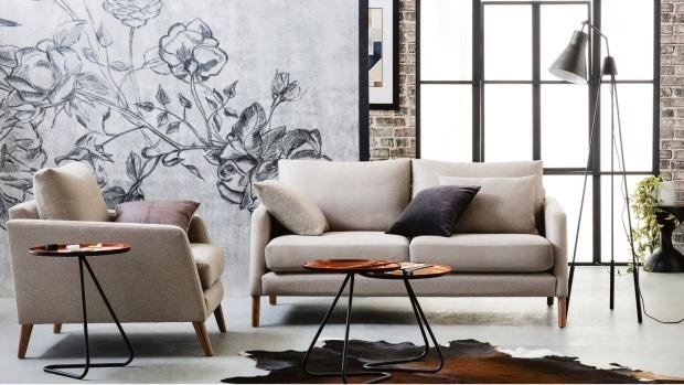 дизайнерская мебель в гостиной фото