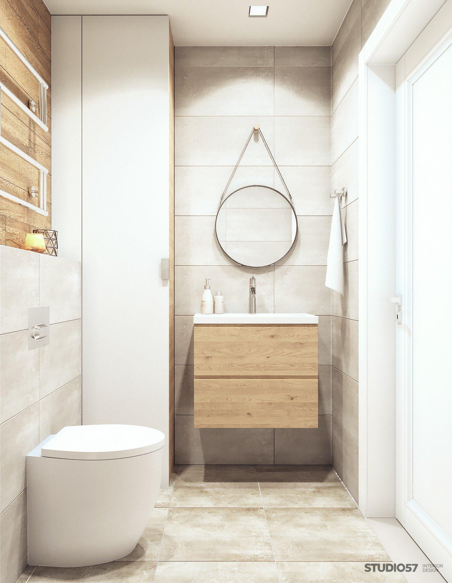 Ванная в стиле контемпорари изображение