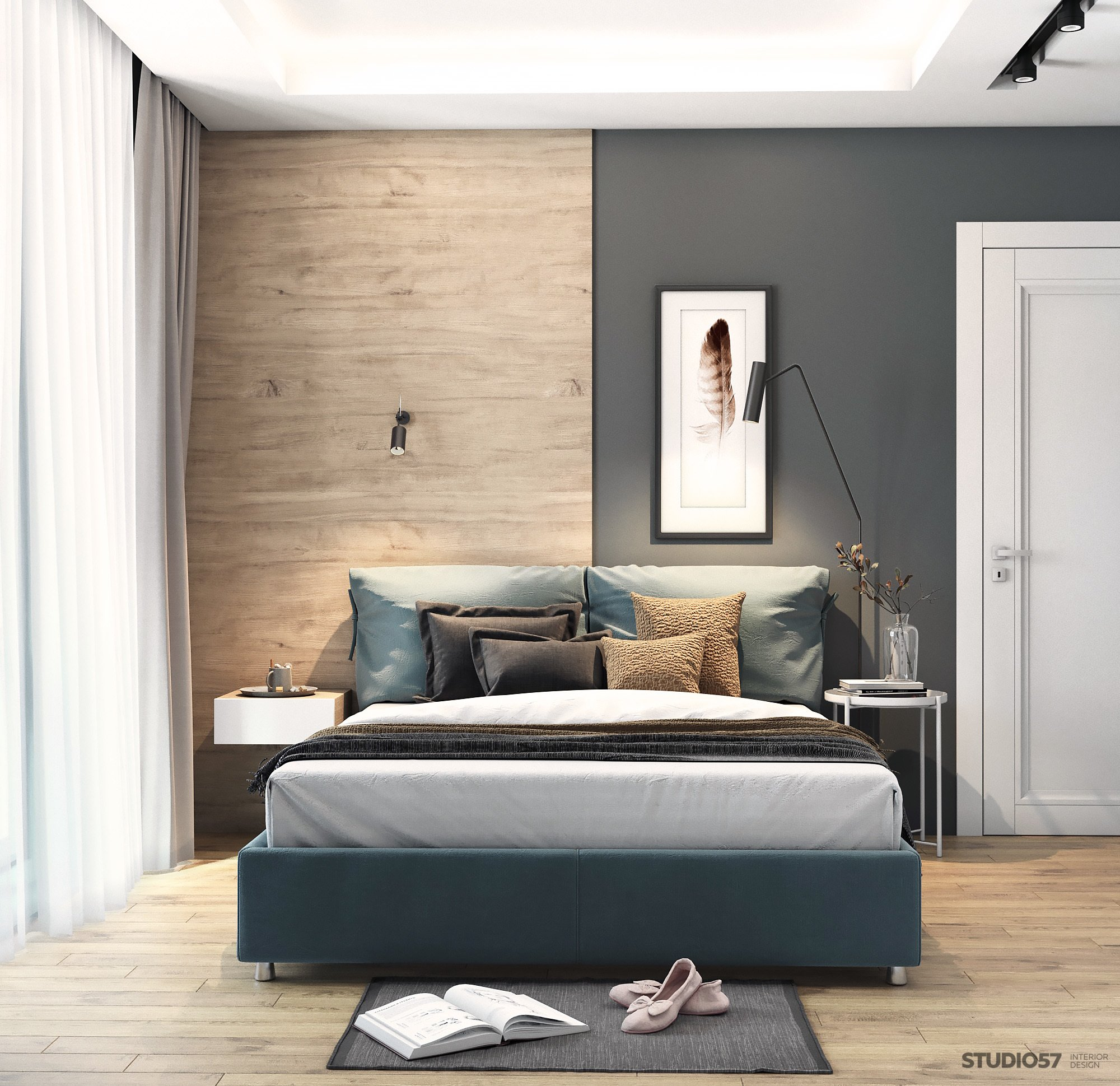 How to make a bedroom in the style of Contemporary