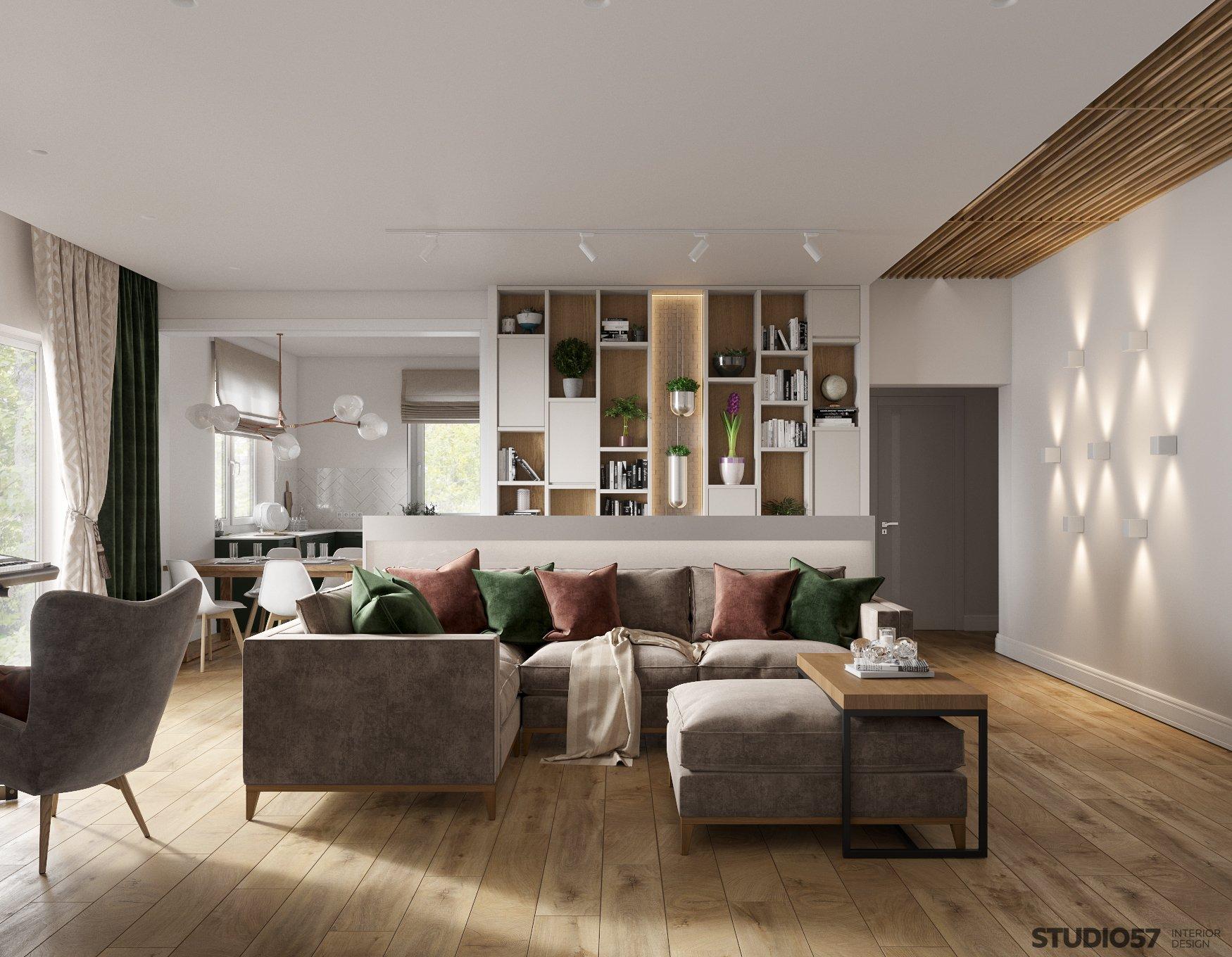 Contemporary Interior Style Photo