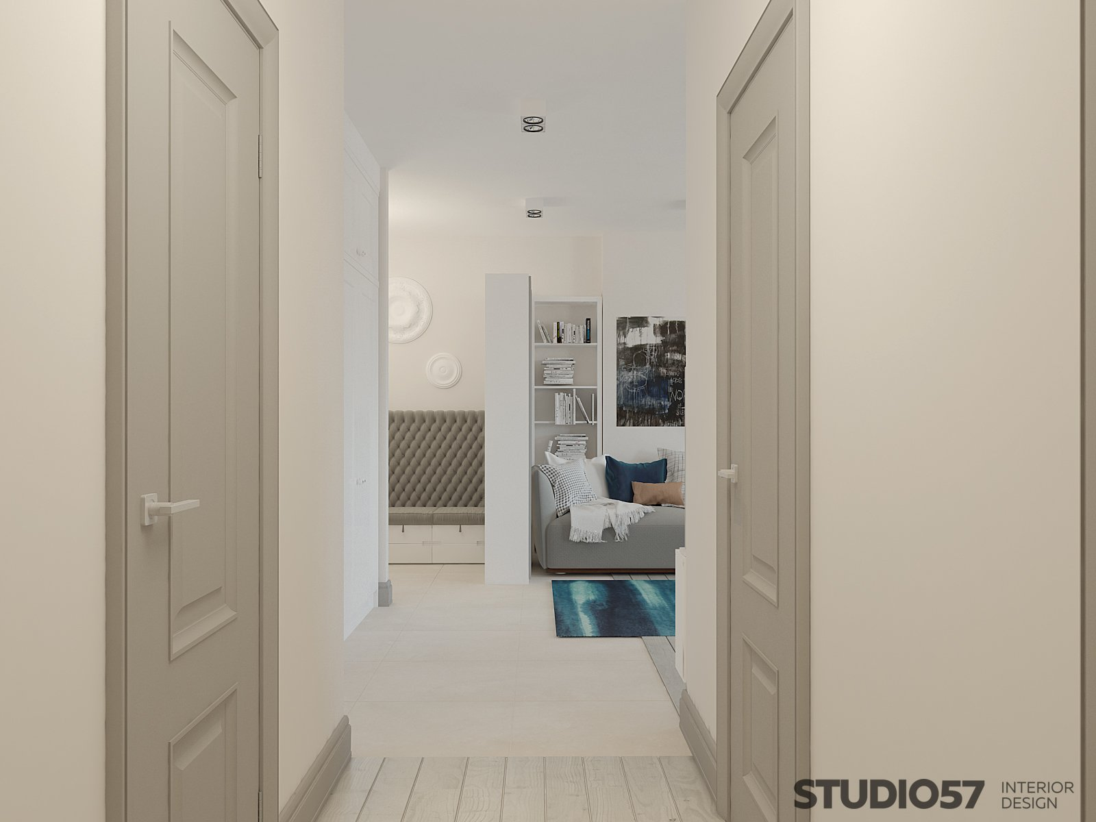 Corridor design photo