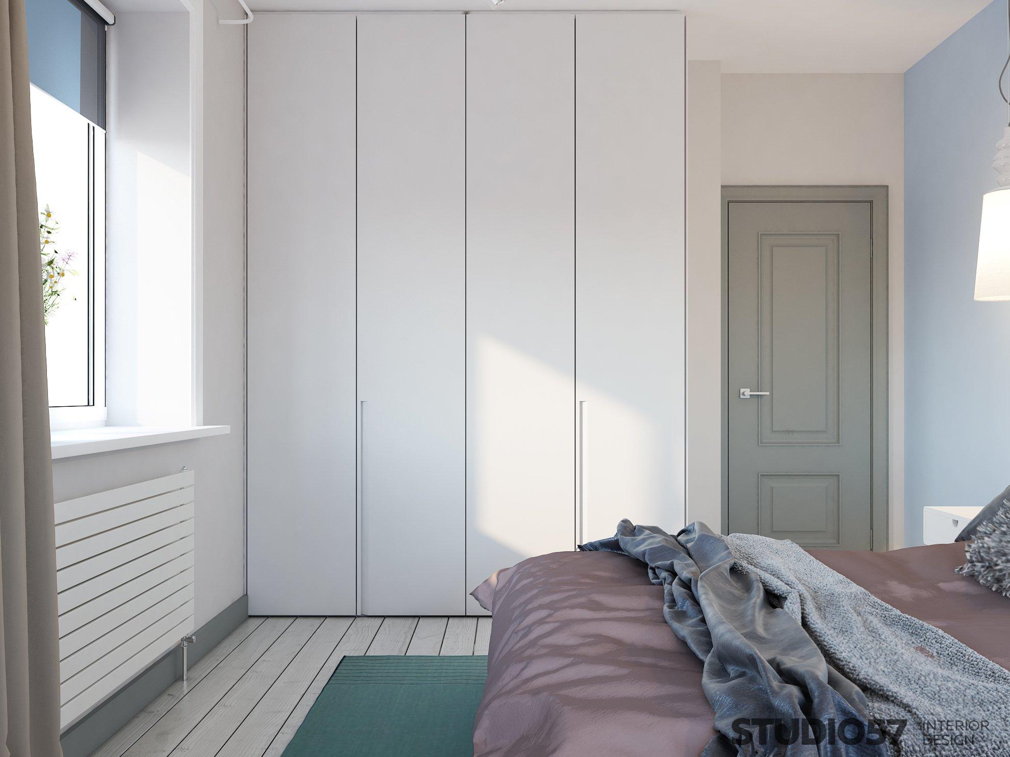 Дизайн шкафа спальни фото