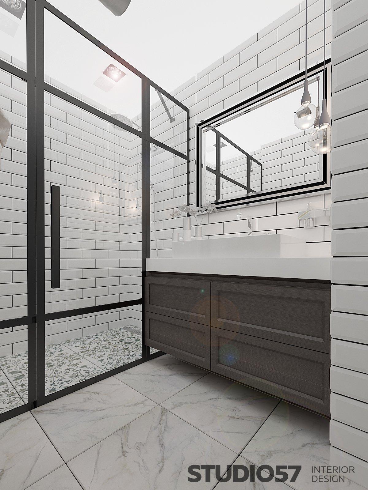 Оформление ванной комнаты с душем фото