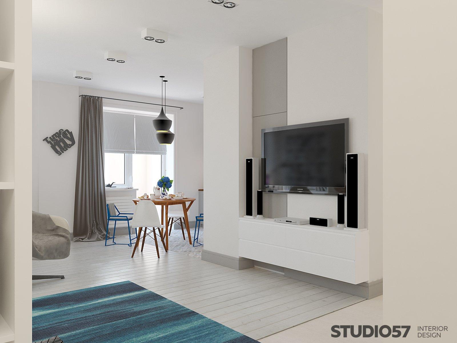 Интерьер квартиры студии картинки