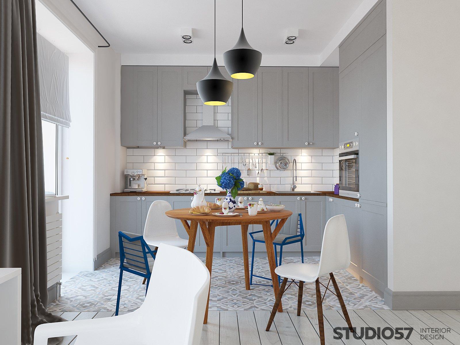 Дизайн кухни и столовой картинка