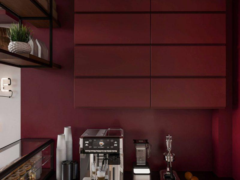 Дизайн кафе шаурма фото