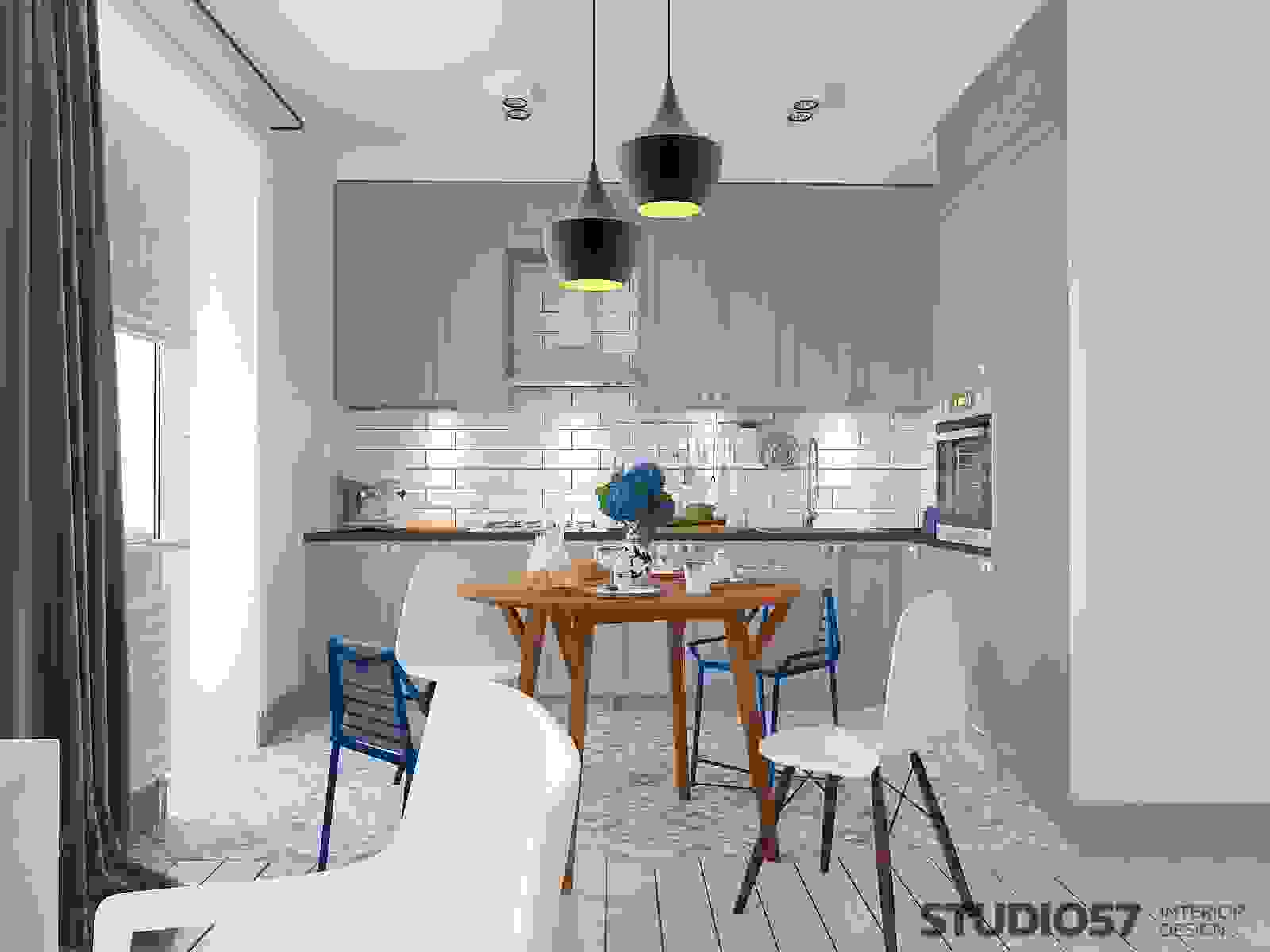 Kitchen design and dining room picture