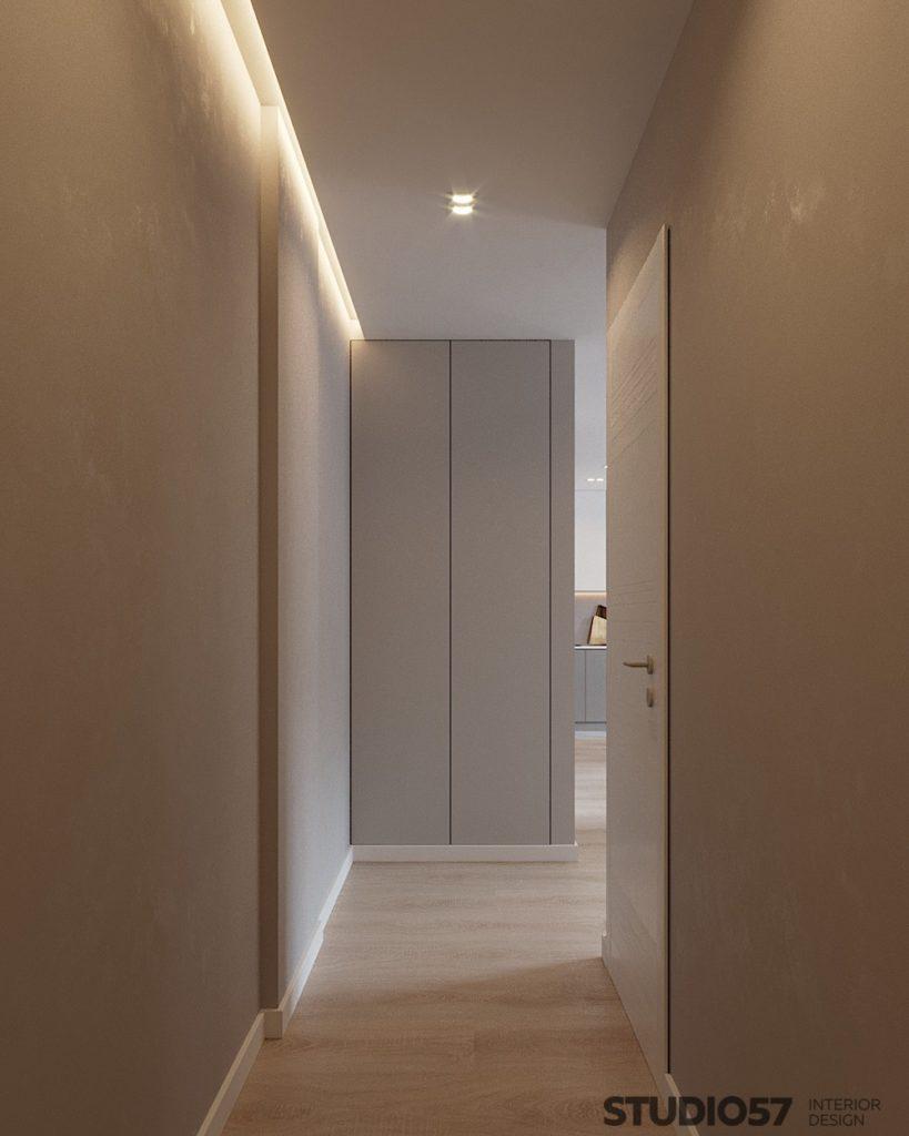 Современный интерьер коридора фото