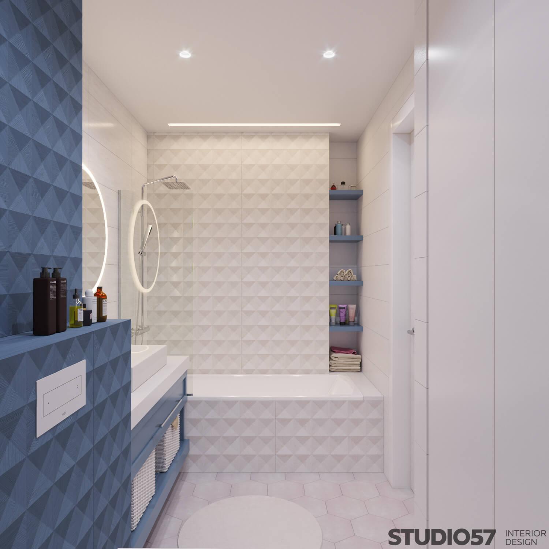 Фото дизайна интерьера современной ванной