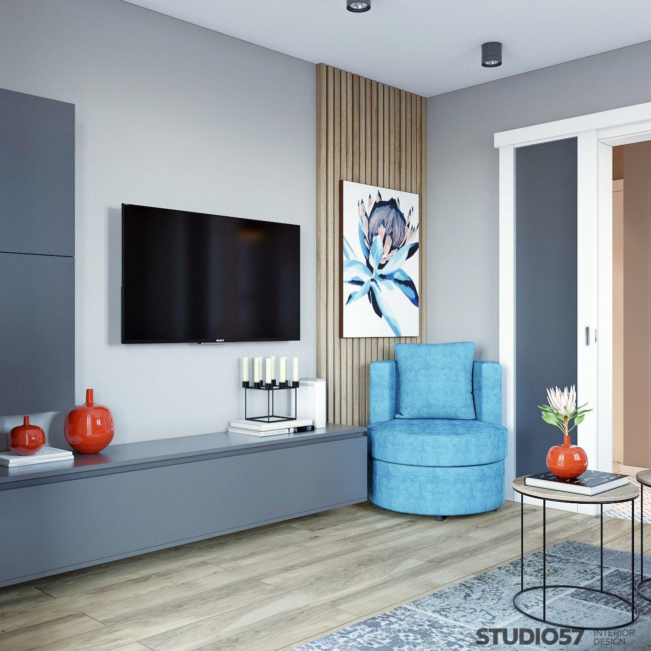 Интерьер квартиры с элементами авангарда