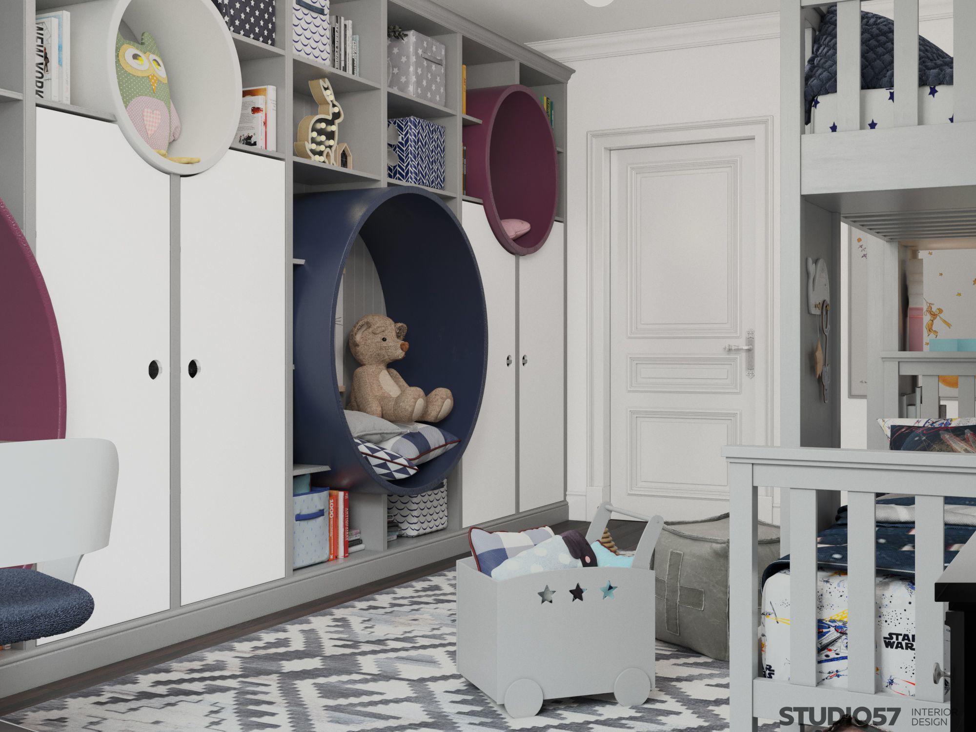 Как оформить комнату в стиле авангард детская