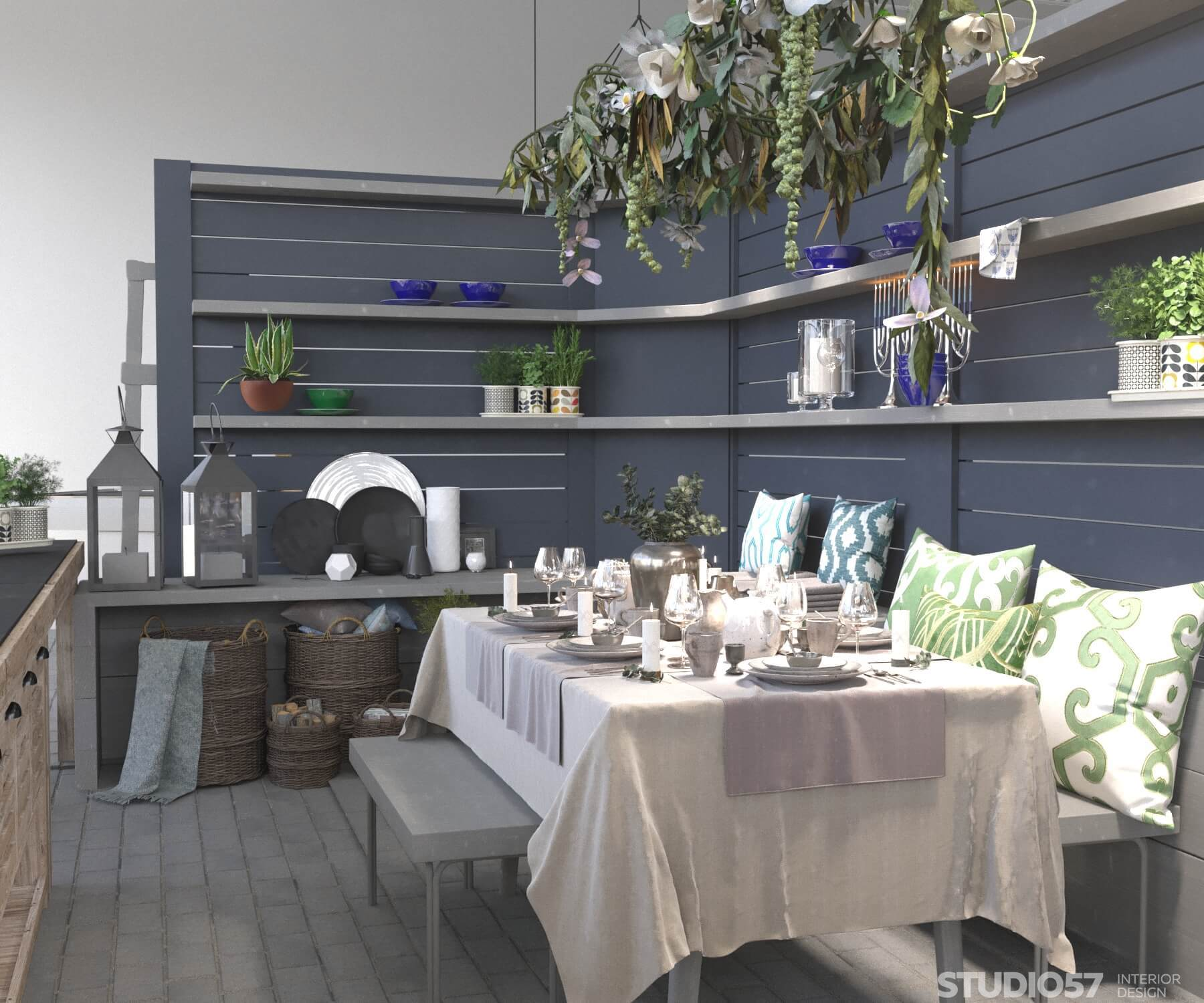 Provence style in store design