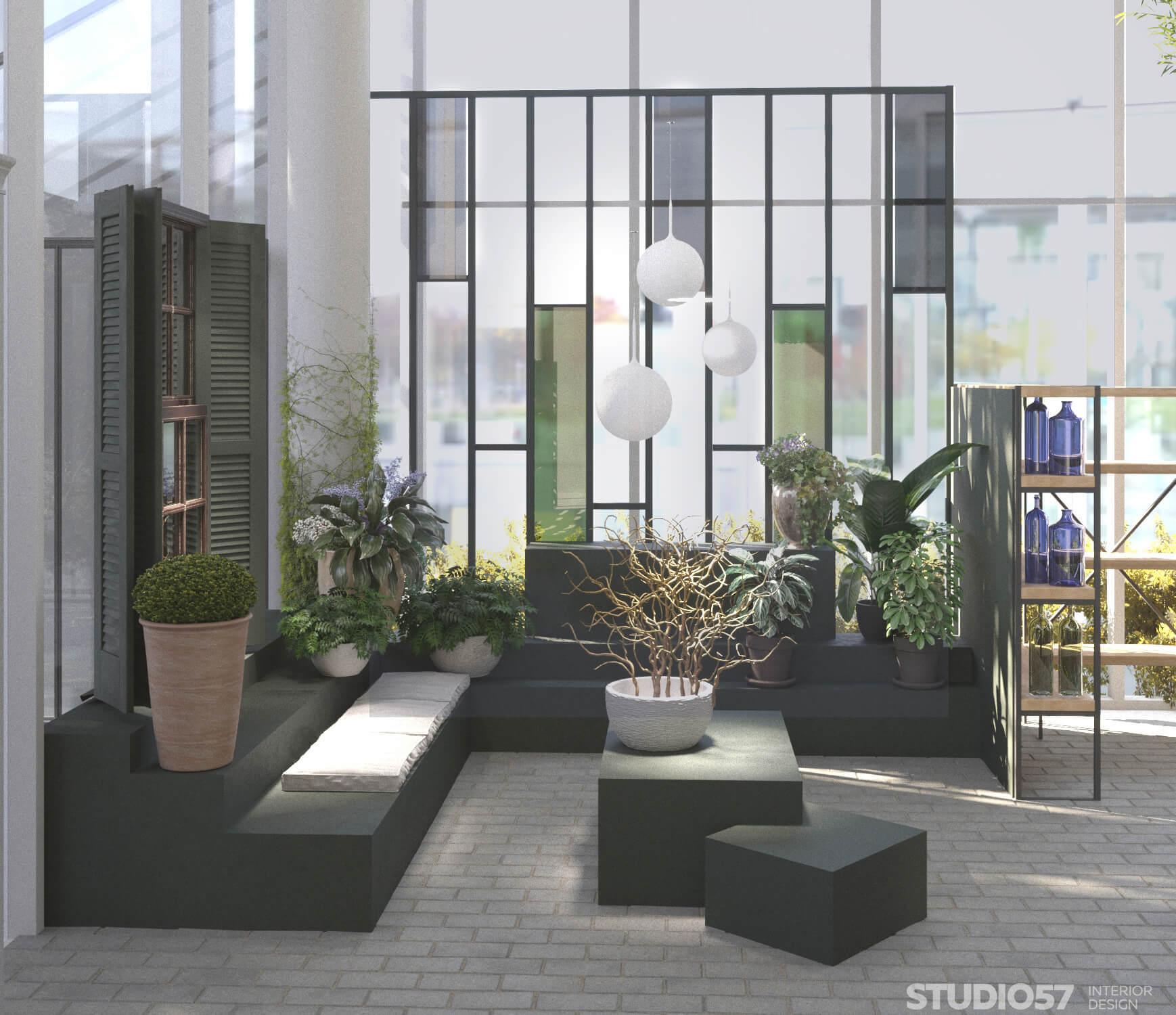 Дизайн проект магазина для сада