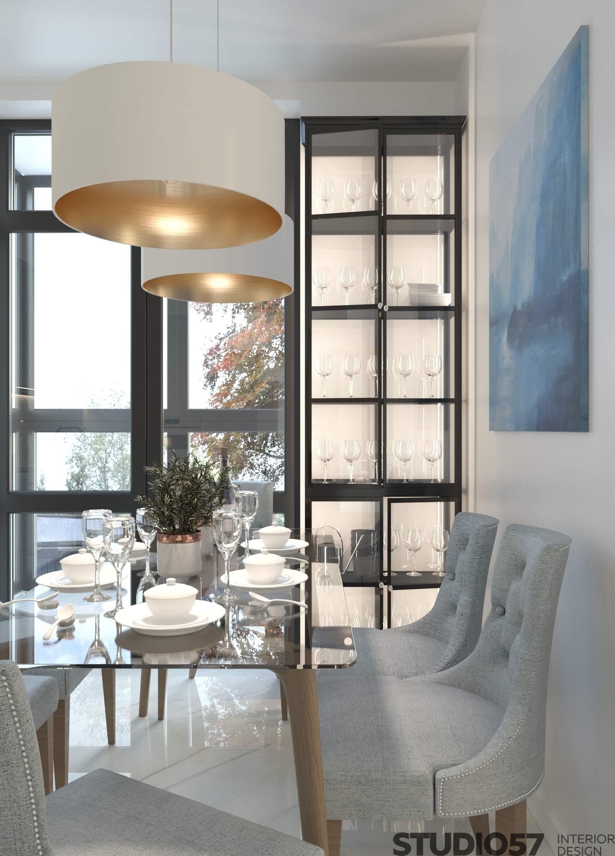 Fresh kitchen interior design photo