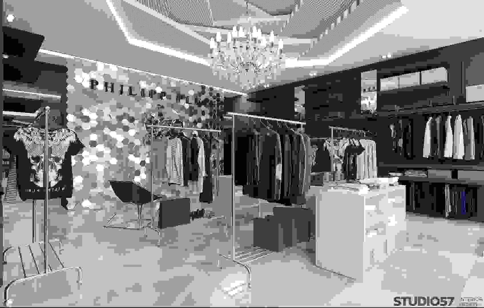 Photos of clothing store design