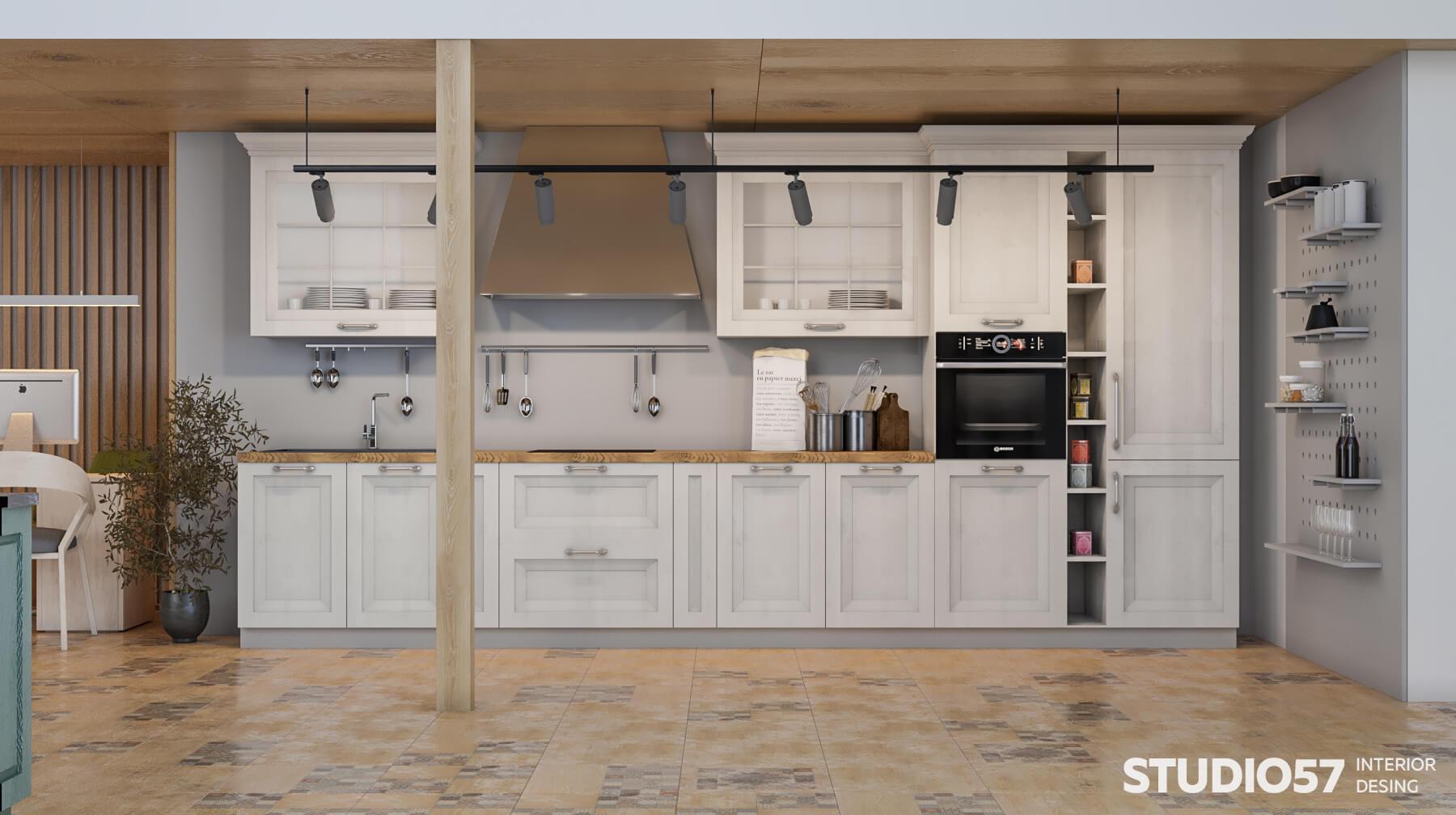 Визуализация магазина кухонь
