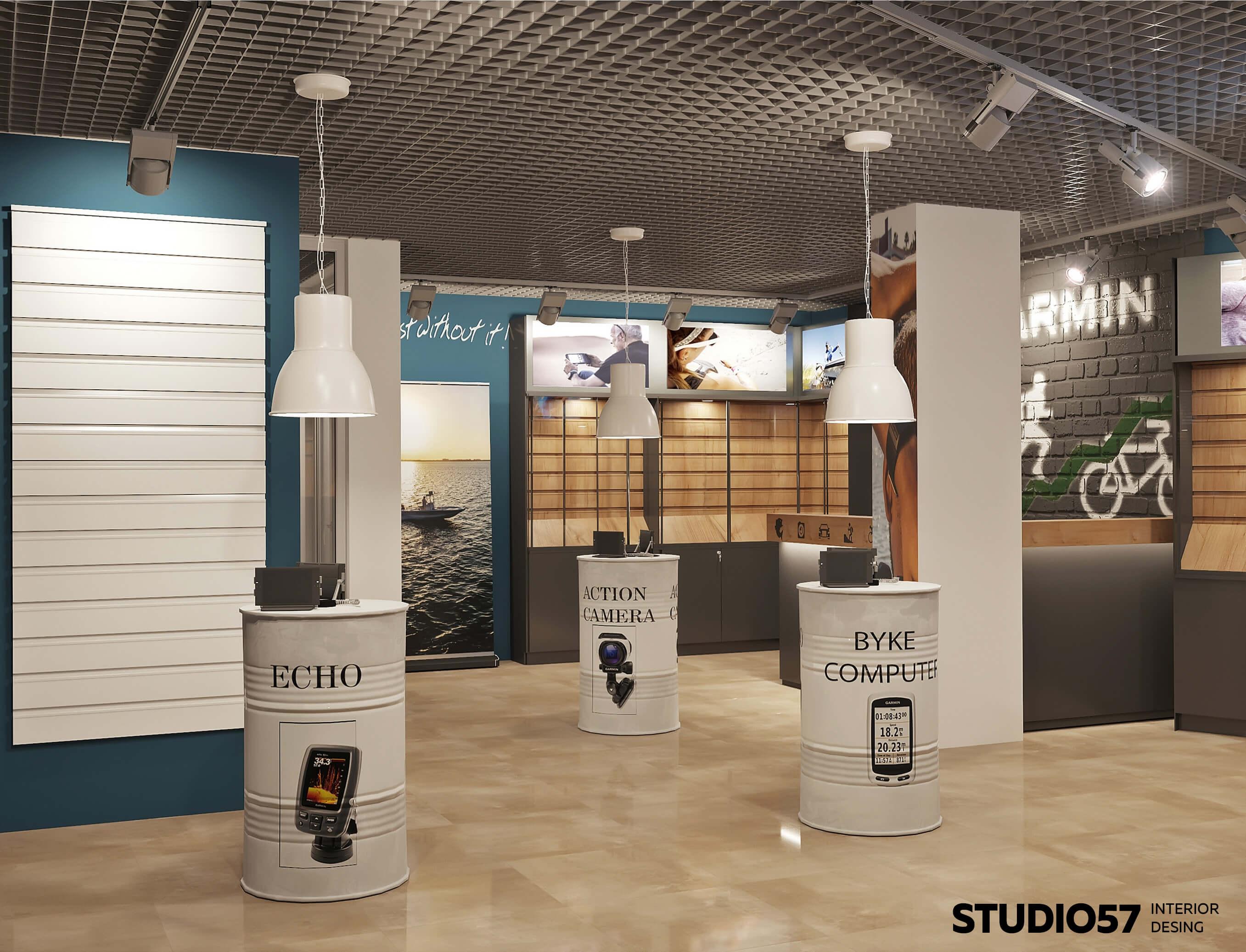 Дизайн проект магазина бытовой техники