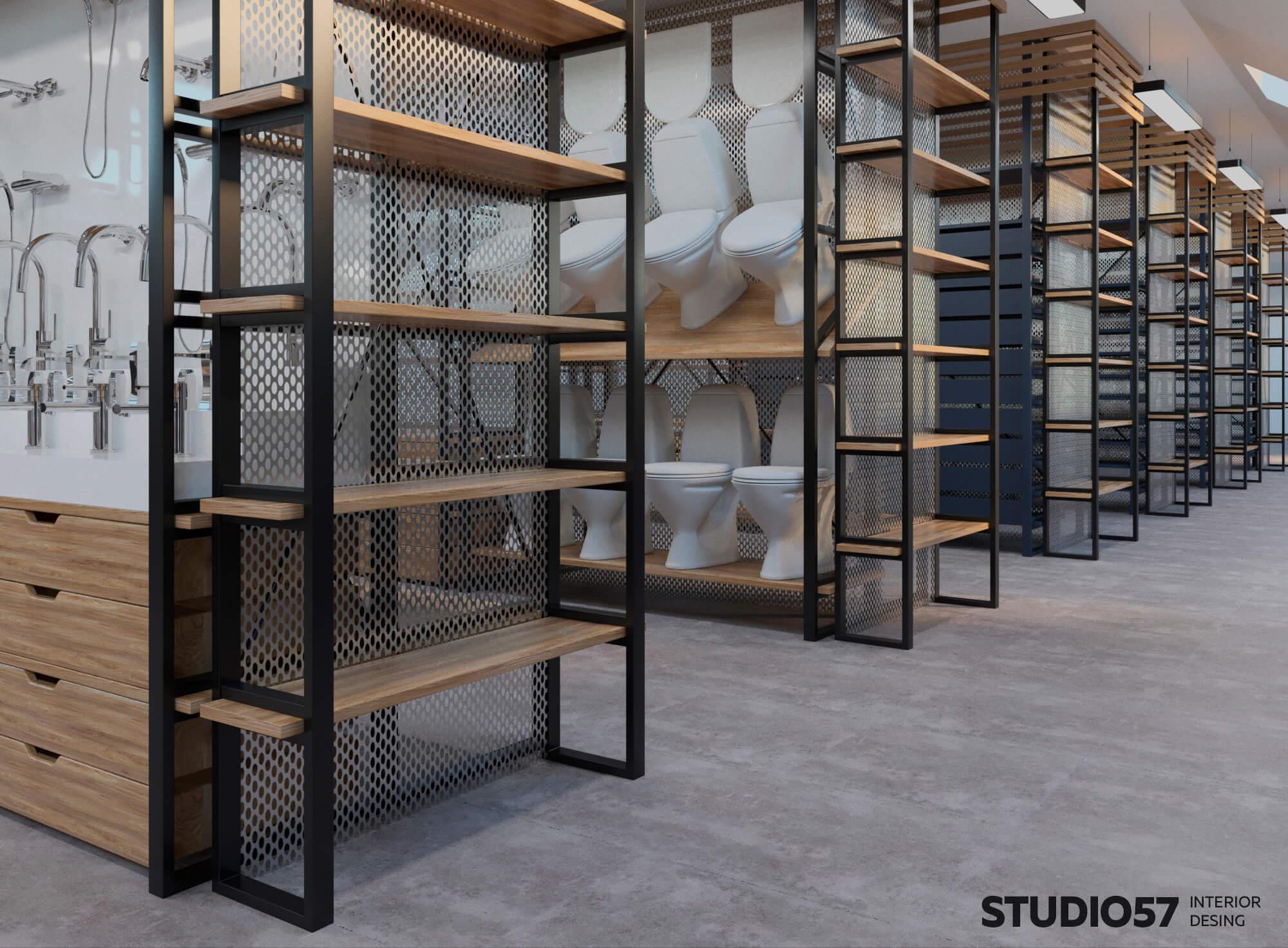 Дизайн интерьера строительного магазина