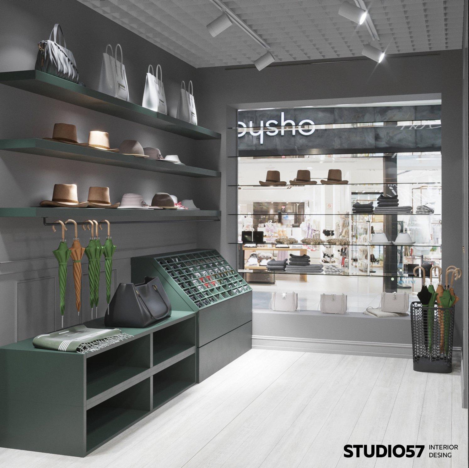 Аккуратный интерьер магазина