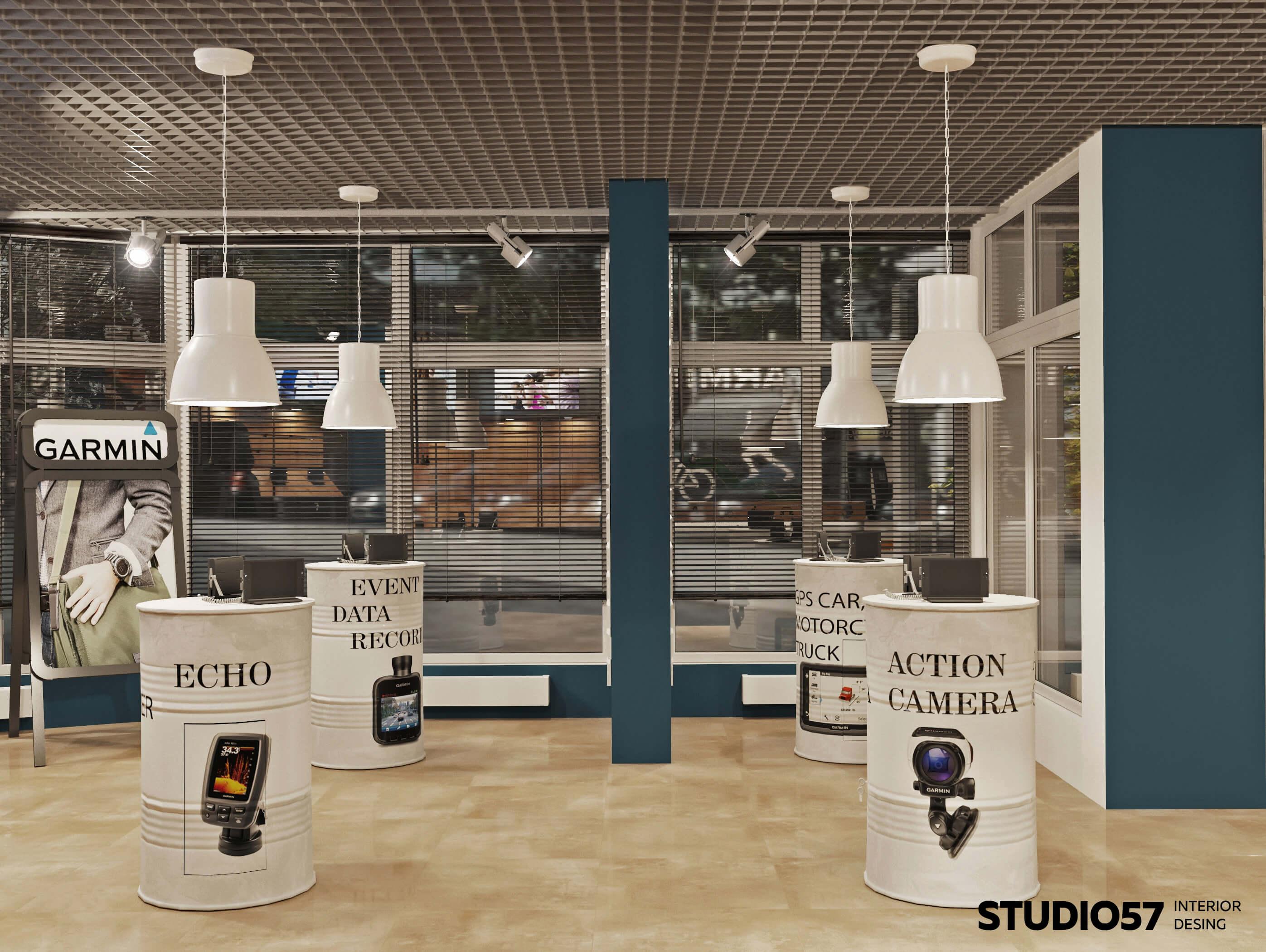 Retail-дизайн магазина бытовой техники