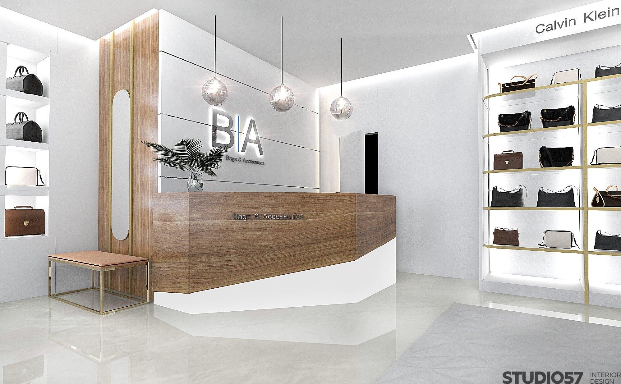 Дизайн интерьера магазина сумок фото
