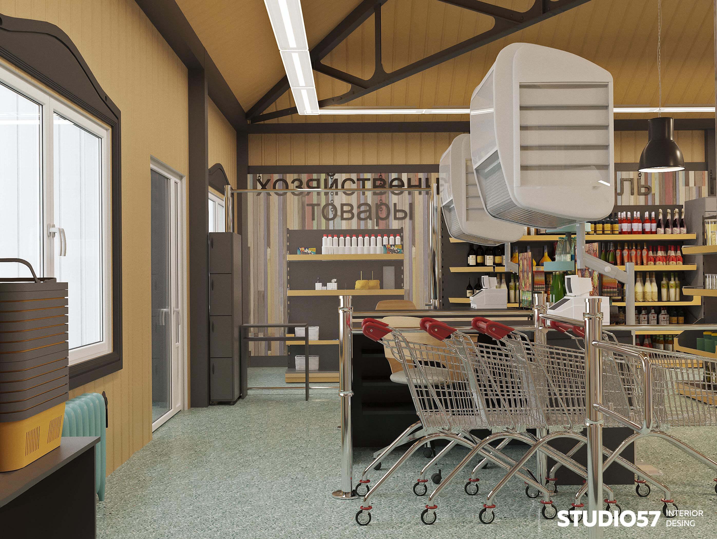 Фото интерьера магазина продуктов