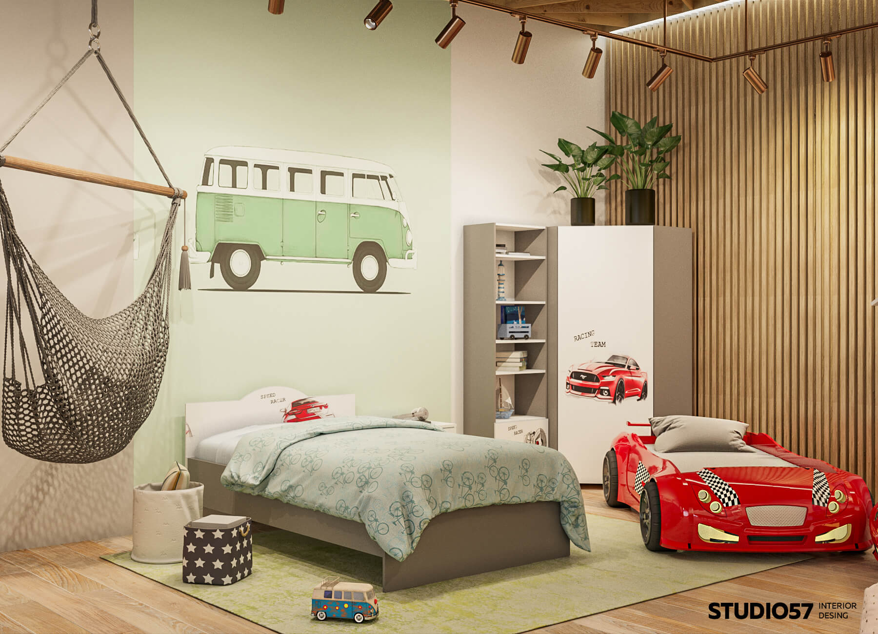 Фото примера детской комнаты в магазине