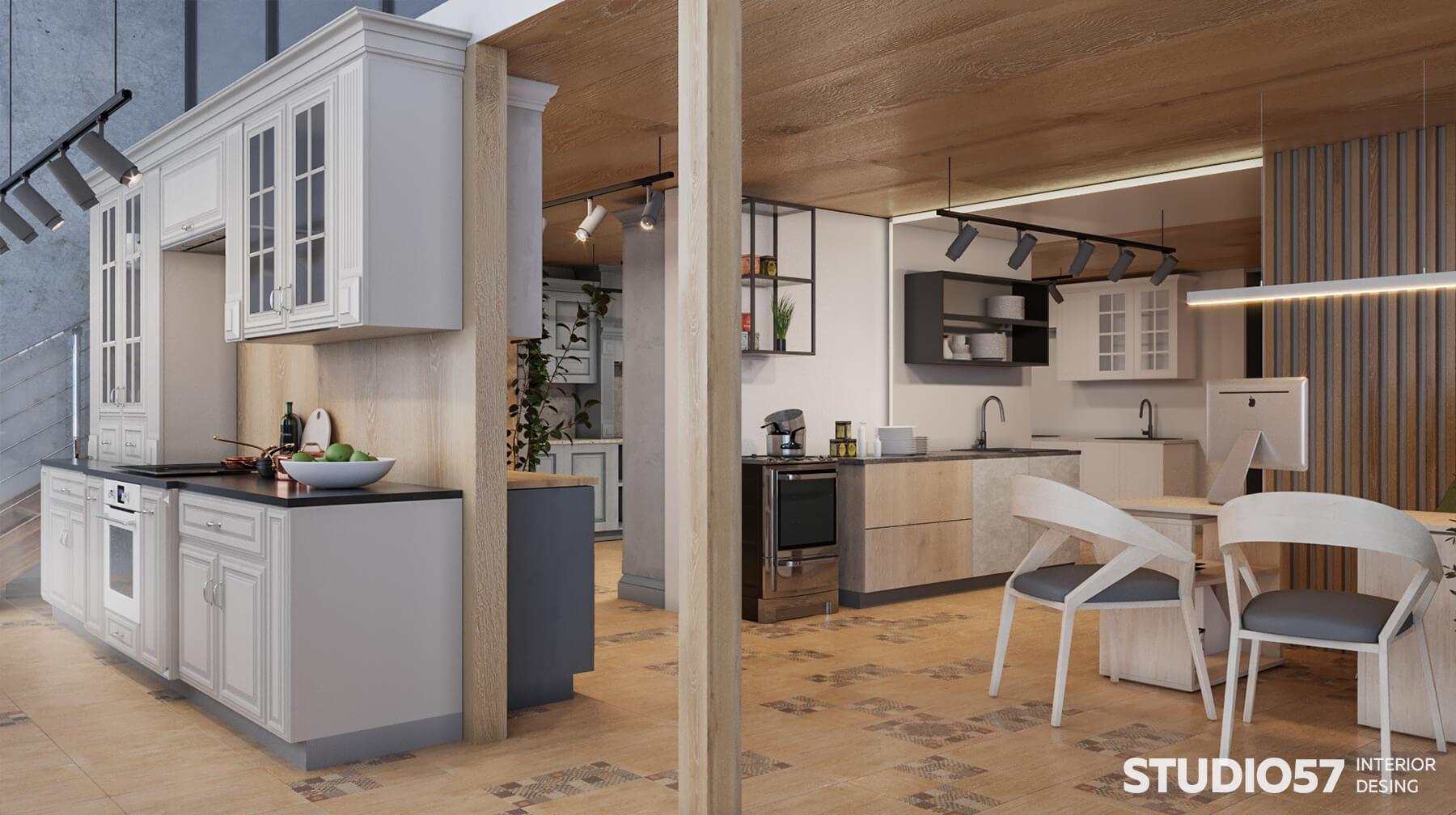 Retail-дизайн магазина кухонь