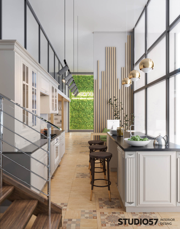 Как красиво оформить магазин кухонь