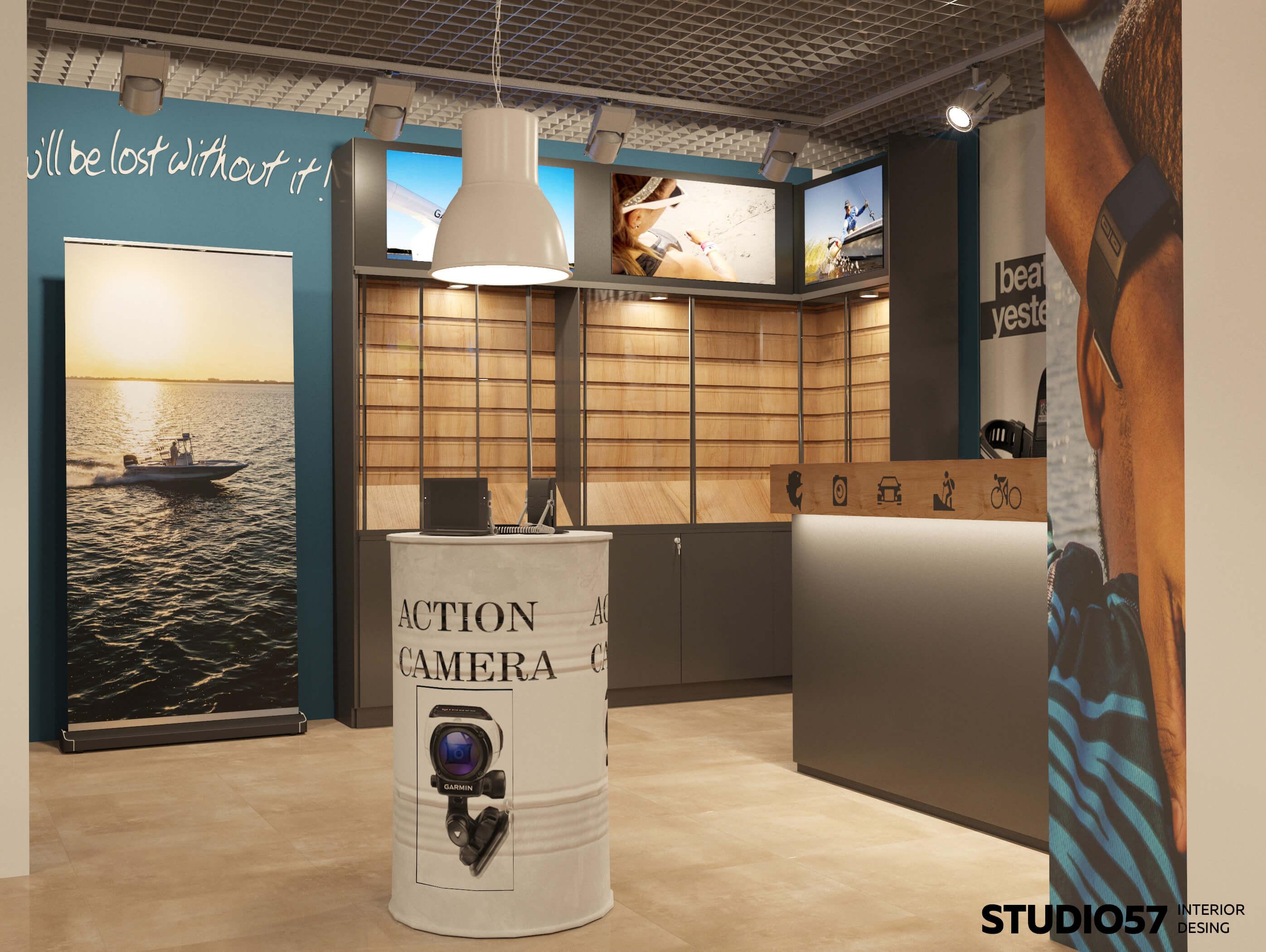 Красивый интерьер магазина бытовой техники