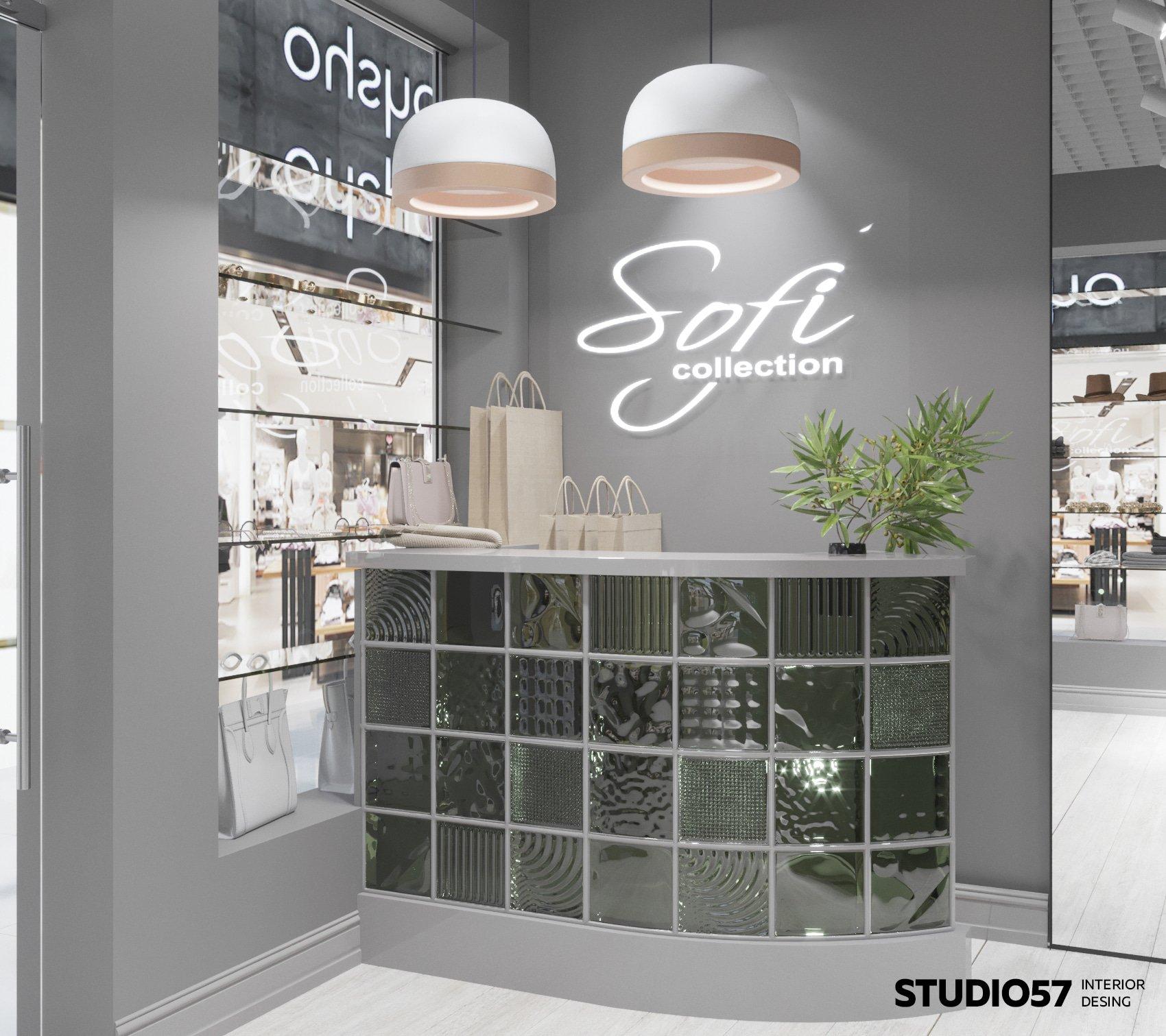 Retail-дизайн маленького магазина