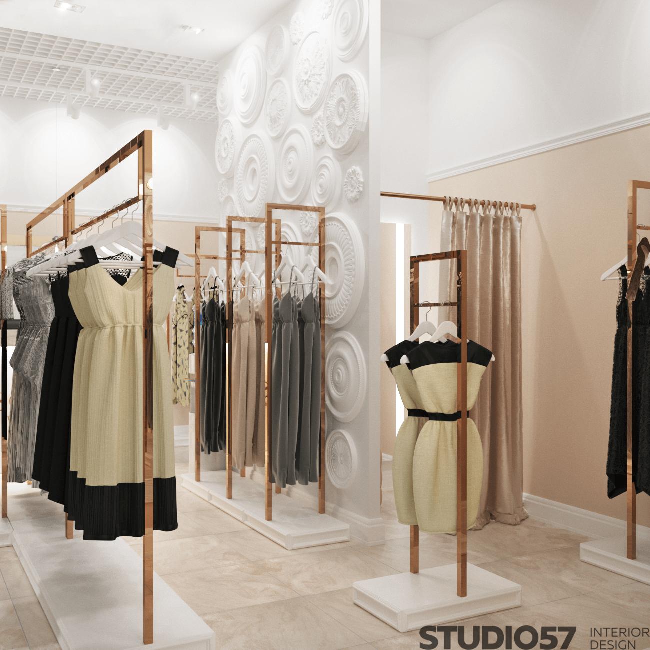Как оформить магазин женской одежды