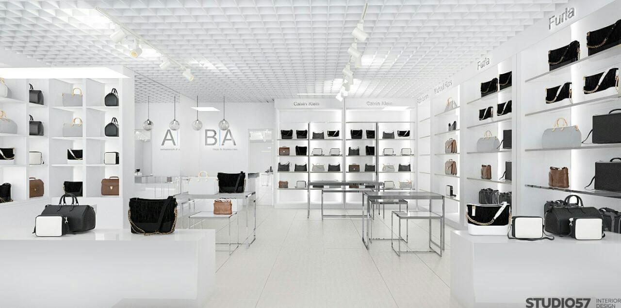 Дизайн магазина сумок B|A