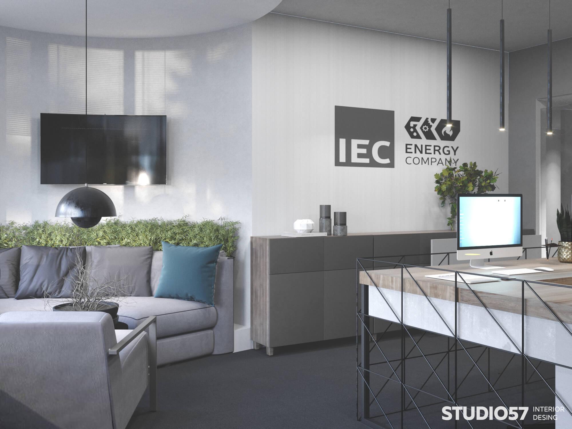 Пример дизайна офиса