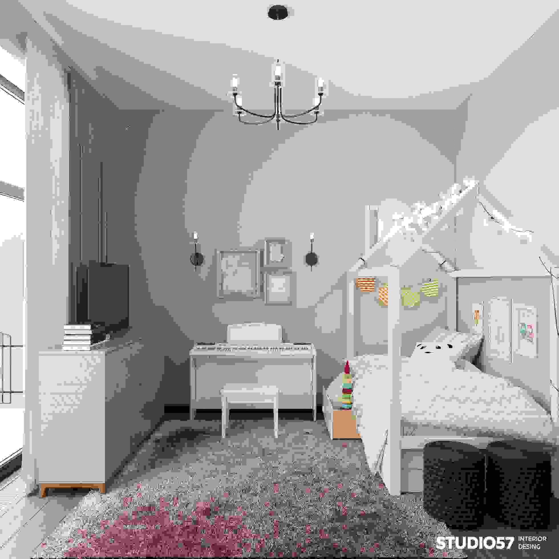 Photo of the bright children's room