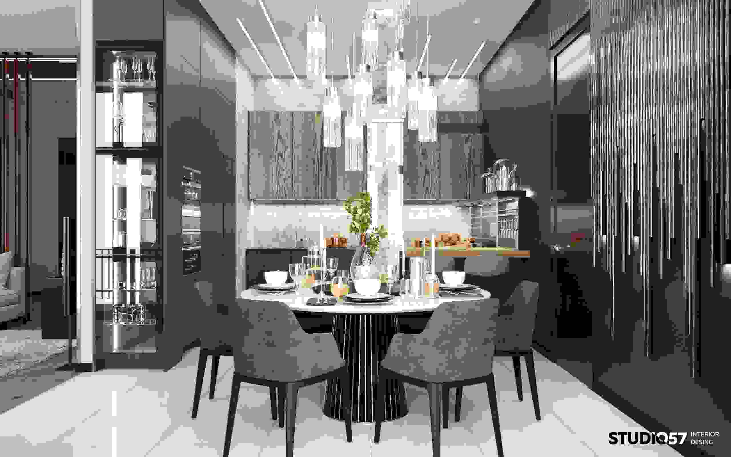 Luxurious dining area
